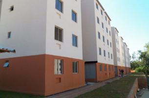 Obras dos apartamentos do programa Minha Casa Minha Vida na Av. Frederico Dihl estão 95% concluídas   Foto: Divulgação / OA