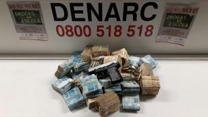 Presos terão que comprovar origem lícita dos bens apreendidos pela polícia | Foto: Denarc / Divulgação / OA