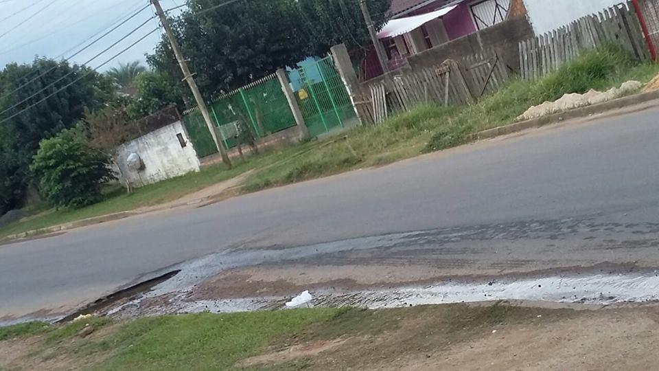Comunidade aguarda uma solução para o problema / Foto: Andresa Pinheiro / Divulgação / OA