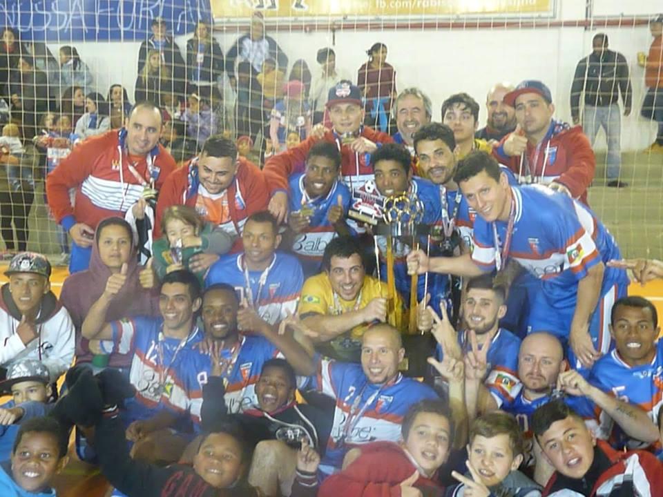Rabelo FC campeão do Municipal de Futsal / Foto: Divulgação / AO