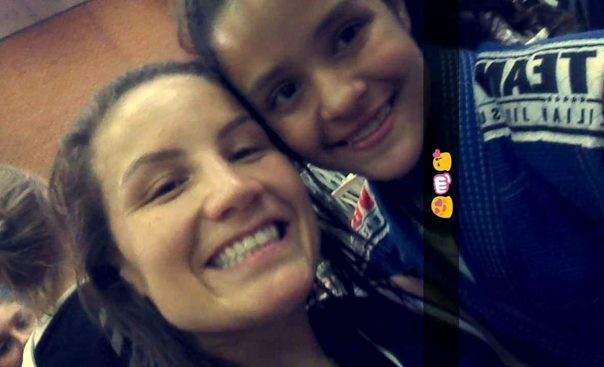Maria Portela e Brenda Andrades, uma amizade além do tatame / Foto: Arquivo Pessoal / OA
