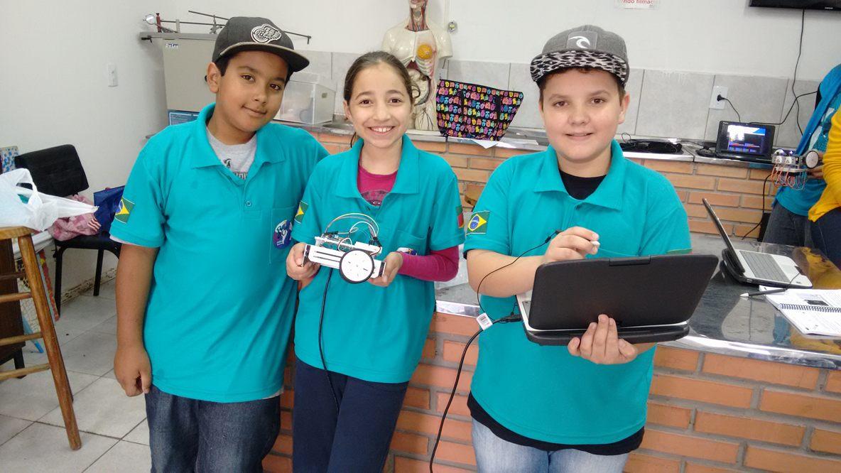 São três os alunos envolvidos com a proposta / Foto: Divulgação / OA