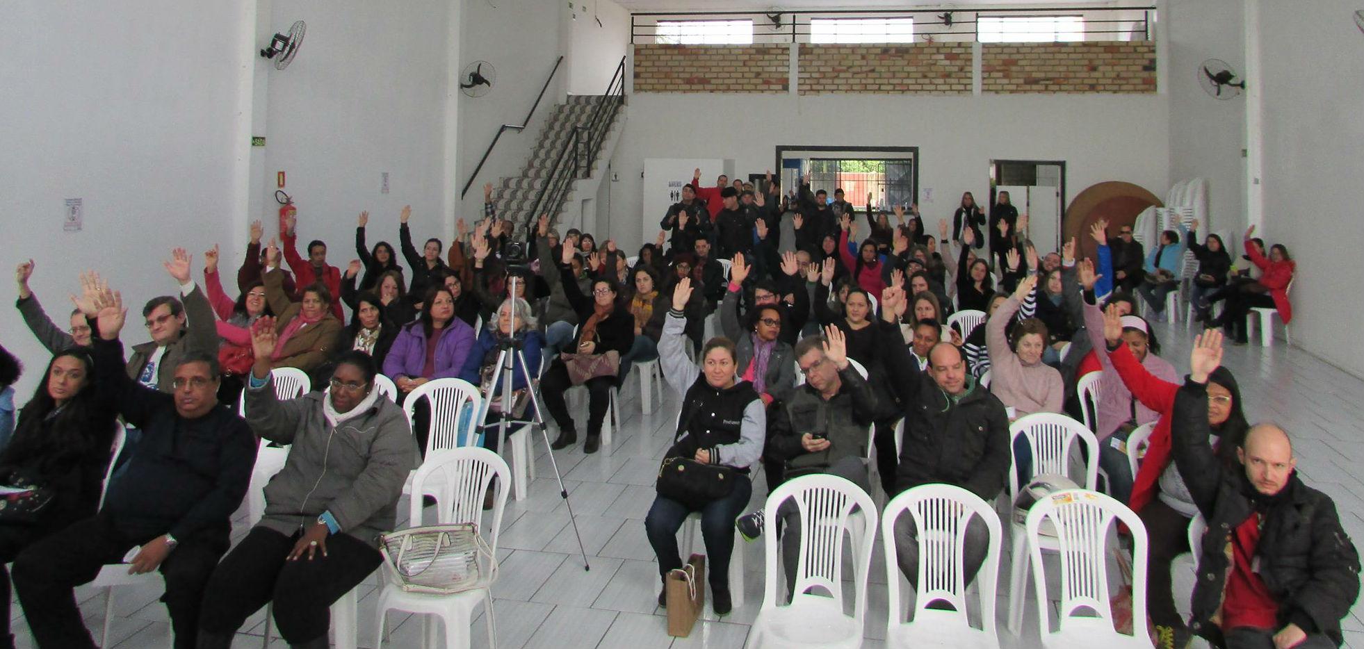 Assembleia aconteceu em três turnos / Foto: Sima / Especial / OA