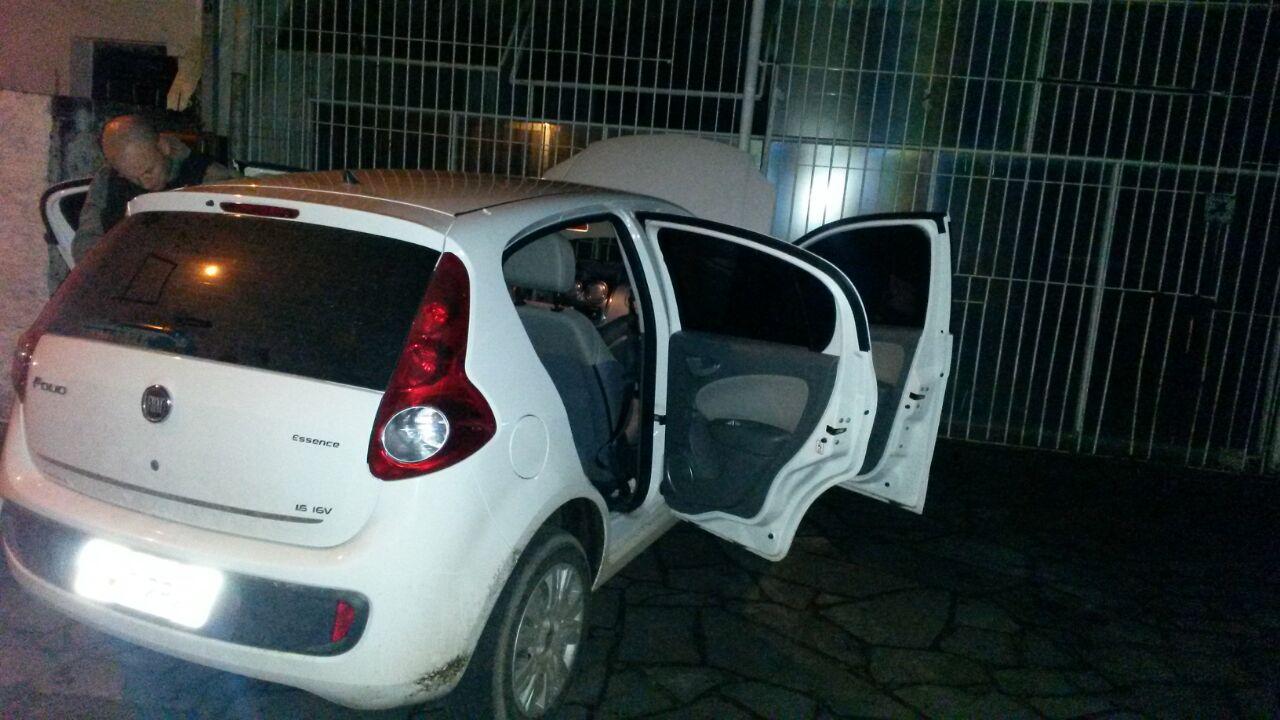 Veículos foram localizado próximo à agência / Foto: 24º BPM / Divulgação / OA