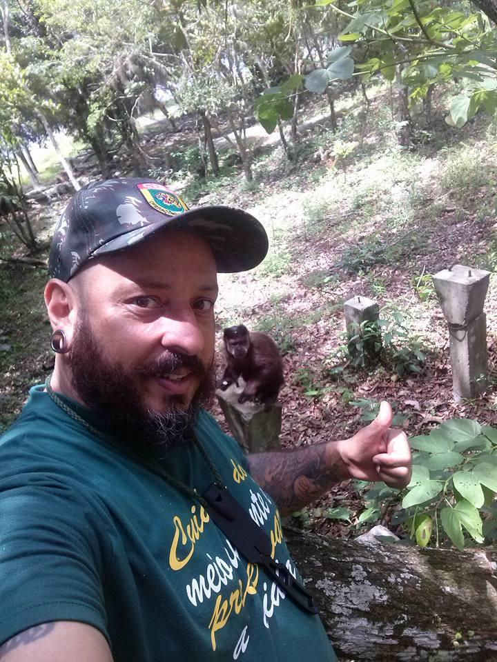 Paulinho é protetor voluntário em SC / Foto: Divulgação / OA