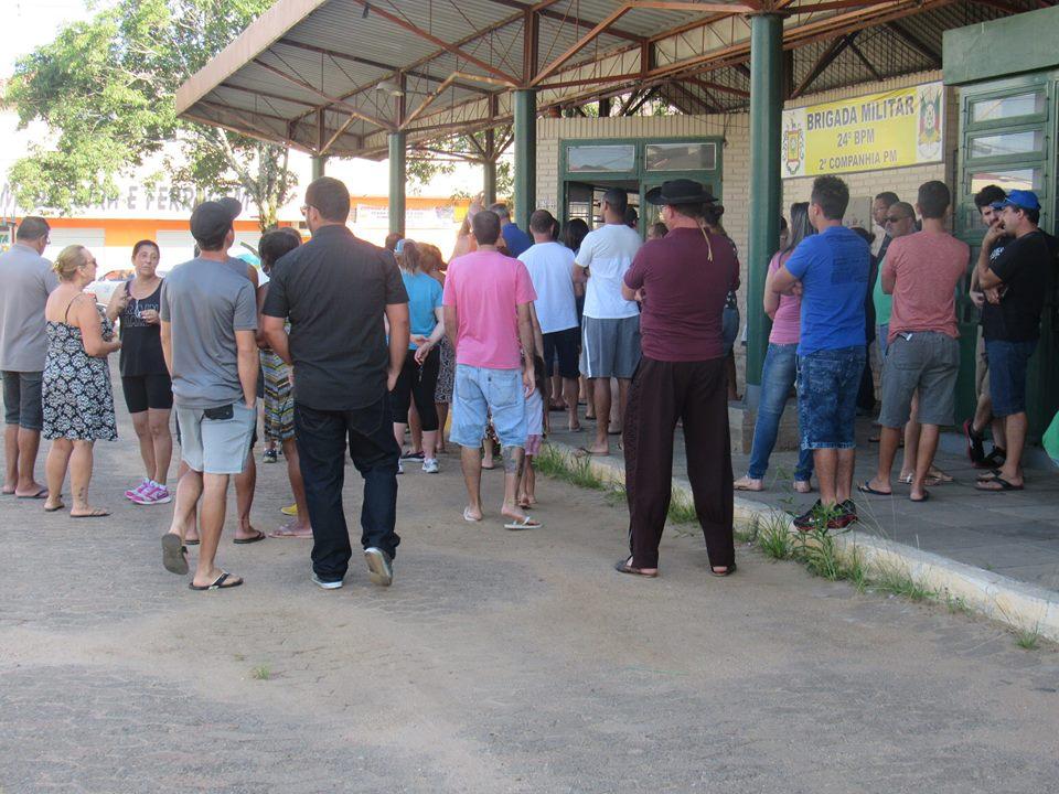 Moradores querem impedir que o Posto seja fechado / Foto: VC / Divulgação / OA