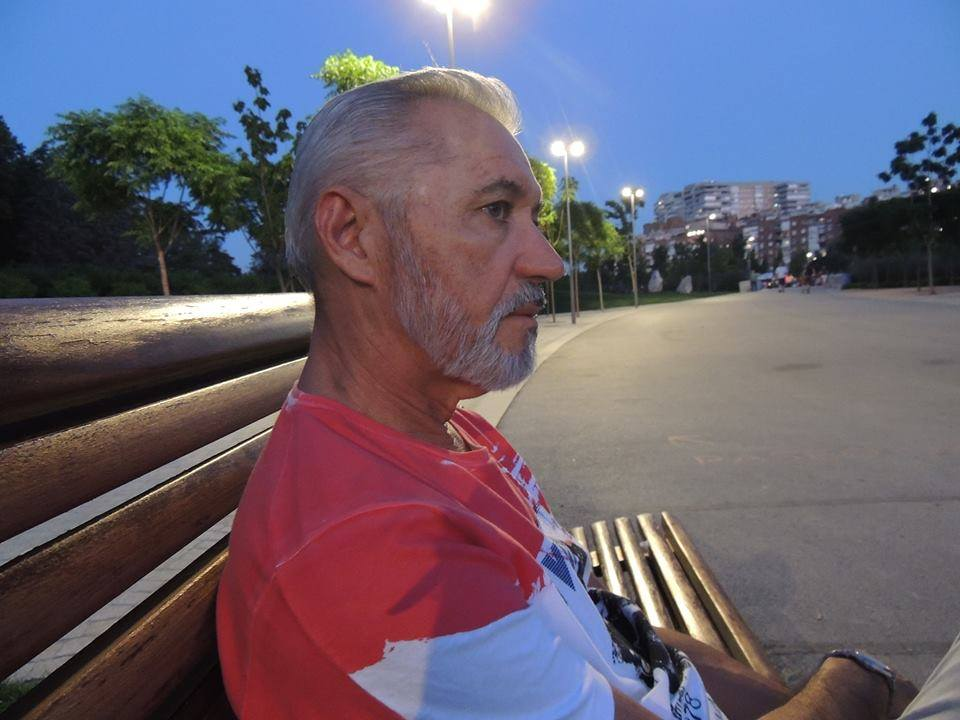 O poeta Antonio Torres, foto arquivo pessoal