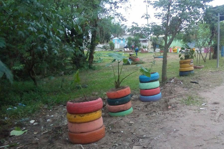 Local havia sido revitalizado pela comunidade / Foto: João Vitor Silva / Especial / OA